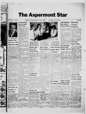 Primary view of object titled 'The Aspermont Star (Aspermont, Tex.), Vol. 66, No. 34, Ed. 1  Thursday, April 23, 1964'.