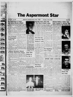 Primary view of object titled 'The Aspermont Star (Aspermont, Tex.), Vol. 66, No. 36, Ed. 1  Thursday, May 7, 1964'.