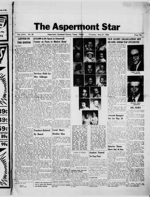 Primary view of object titled 'The Aspermont Star (Aspermont, Tex.), Vol. 66, No. 38, Ed. 1  Thursday, May 21, 1964'.