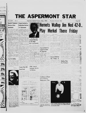 Primary view of object titled 'The Aspermont Star (Aspermont, Tex.), Vol. 67, No. 6, Ed. 1  Thursday, October 8, 1964'.