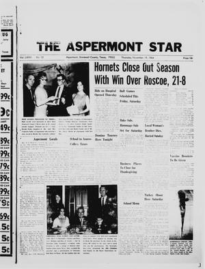 Primary view of object titled 'The Aspermont Star (Aspermont, Tex.), Vol. 67, No. 12, Ed. 1  Thursday, November 19, 1964'.