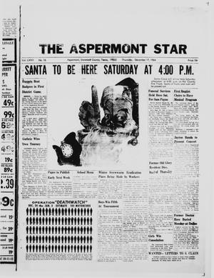 Primary view of object titled 'The Aspermont Star (Aspermont, Tex.), Vol. 67, No. 16, Ed. 1  Thursday, December 17, 1964'.