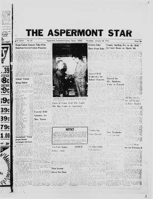 Primary view of object titled 'The Aspermont Star (Aspermont, Tex.), Vol. 67, No. 22, Ed. 1  Thursday, January 28, 1965'.