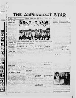 Primary view of object titled 'The Aspermont Star (Aspermont, Tex.), Vol. 67, No. 27, Ed. 1  Thursday, March 4, 1965'.