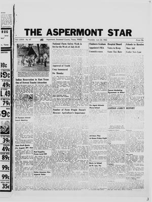 Primary view of object titled 'The Aspermont Star (Aspermont, Tex.), Vol. 67, No. 47, Ed. 1  Thursday, July 22, 1965'.