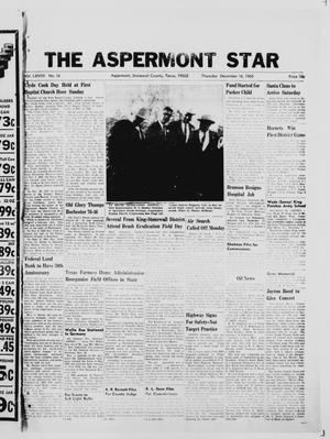 Primary view of object titled 'The Aspermont Star (Aspermont, Tex.), Vol. 68, No. 16, Ed. 1  Thursday, December 16, 1965'.