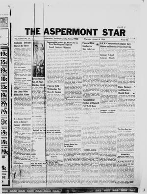 Primary view of object titled 'The Aspermont Star (Aspermont, Tex.), Vol. 68, No. 19, Ed. 1  Thursday, January 6, 1966'.