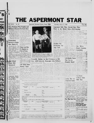 Primary view of object titled 'The Aspermont Star (Aspermont, Tex.), Vol. 68, No. 29, Ed. 1  Thursday, March 17, 1966'.