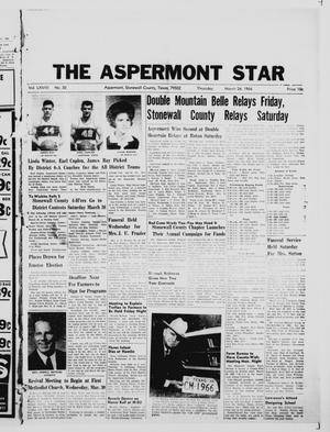 Primary view of object titled 'The Aspermont Star (Aspermont, Tex.), Vol. 68, No. 30, Ed. 1  Thursday, March 24, 1966'.