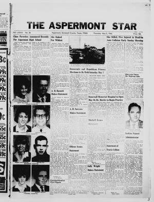 Primary view of object titled 'The Aspermont Star (Aspermont, Tex.), Vol. 68, No. 36, Ed. 1  Thursday, May 5, 1966'.
