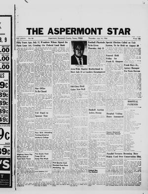 Primary view of object titled 'The Aspermont Star (Aspermont, Tex.), Vol. 68, No. 46, Ed. 1  Thursday, July 14, 1966'.