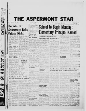 Primary view of object titled 'The Aspermont Star (Aspermont, Tex.), Vol. 68, No. 52, Ed. 1  Thursday, August 25, 1966'.
