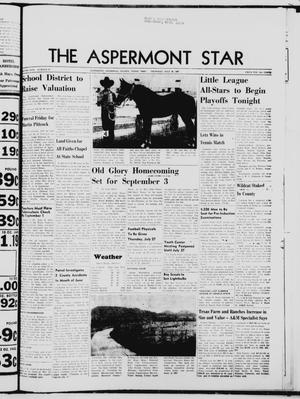 Primary view of object titled 'The Aspermont Star (Aspermont, Tex.), Vol. 69, No. 47, Ed. 1  Thursday, July 20, 1967'.