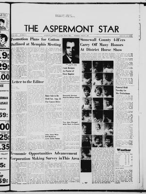 Primary view of object titled 'The Aspermont Star (Aspermont, Tex.), Vol. 69, No. 49, Ed. 1  Thursday, August 3, 1967'.