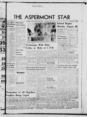 Primary view of object titled 'The Aspermont Star (Aspermont, Tex.), Vol. 69, No. 52, Ed. 1  Thursday, August 24, 1967'.