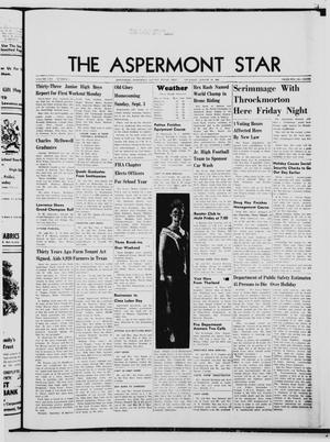 Primary view of object titled 'The Aspermont Star (Aspermont, Tex.), Vol. 70, No. 1, Ed. 1  Thursday, August 31, 1967'.