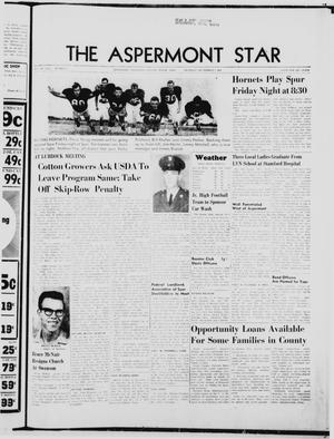 Primary view of object titled 'The Aspermont Star (Aspermont, Tex.), Vol. 70, No. 2, Ed. 1  Thursday, September 7, 1967'.
