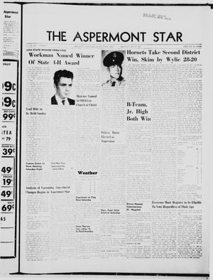 Primary view of object titled 'The Aspermont Star (Aspermont, Tex.), Vol. 70, No. 7, Ed. 1  Thursday, October 12, 1967'.