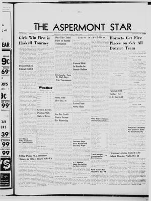 Primary view of object titled 'The Aspermont Star (Aspermont, Tex.), Vol. 70, No. 15, Ed. 1  Thursday, December 7, 1967'.