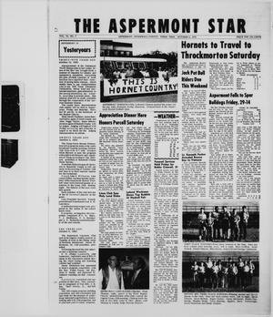 Primary view of object titled 'The Aspermont Star (Aspermont, Tex.), Vol. 73, No. 7, Ed. 1  Thursday, October 8, 1970'.