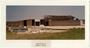 Primary view of object titled 'Construction of the Killeen Community Center'.