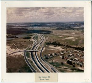 Primary view of object titled '[Aerial view of Highway 190 in Killeen]'.