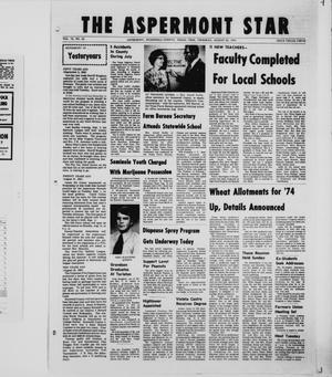 Primary view of object titled 'The Aspermont Star (Aspermont, Tex.), Vol. 75, No. 54, Ed. 1  Thursday, August 30, 1973'.