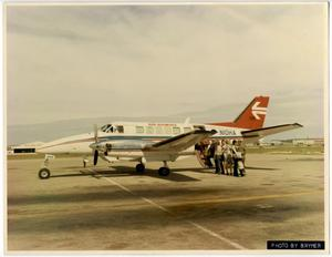 Primary view of object titled 'Rio Airways Airplane, twin prop'.