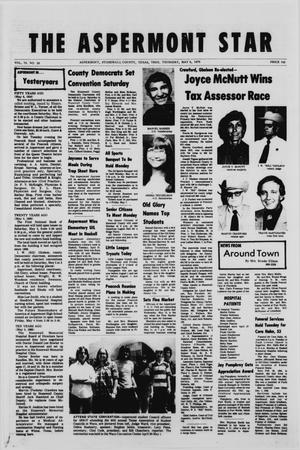 The Aspermont Star (Aspermont, Tex.), Vol. 78, No. 38, Ed. 1  Thursday, May 6, 1976
