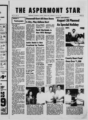 The Aspermont Star (Aspermont, Tex.), Vol. 78, No. 50, Ed. 1  Thursday, July 29, 1976