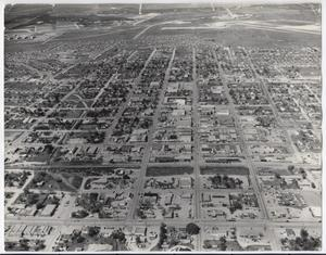Primary view of object titled '[Aerial View of Killeen]'.