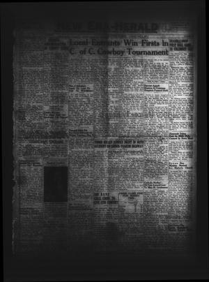 New Era-Herald (Hallettsville, Tex.), Vol. 77, No. 68, Ed. 1 Tuesday, May 9, 1950