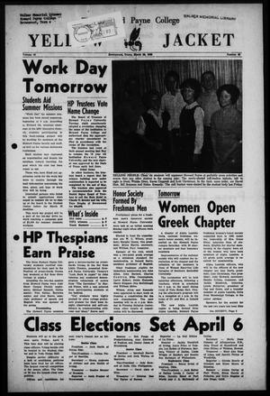 Primary view of object titled 'The Howard Payne College Yellow Jacket (Brownwood, Tex.), Vol. 49, No. 22, Ed. 1  Friday, March 23, 1962'.