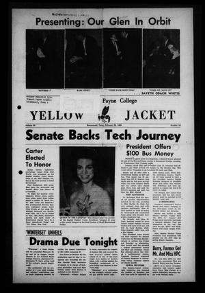 The Howard Payne College Yellow Jacket (Brownwood, Tex.), Vol. 50, No. 18, Ed. 1  Friday, February 22, 1963