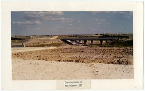 Primary view of object titled 'Construction of New Highway 190'.