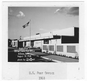 Primary view of object titled 'United States Post Office in Killeen, Texas'.