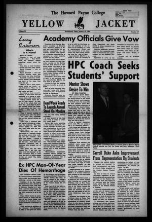 The Howard Payne College Yellow Jacket (Brownwood, Tex.), Vol. 51, No. 15, Ed. 1  Friday, January 10, 1964