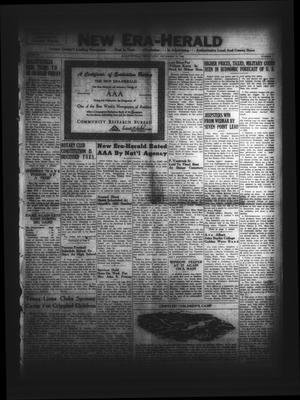 New Era-Herald (Hallettsville, Tex.), Vol. 78, No. 7, Ed. 1 Friday, September 22, 1950