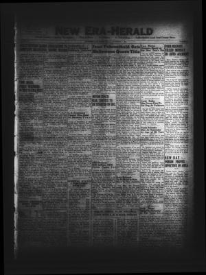 New Era-Herald (Hallettsville, Tex.), Vol. 78, No. 19, Ed. 1 Friday, November 3, 1950