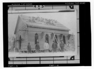 Primary view of object titled '[Building a New Church]'.