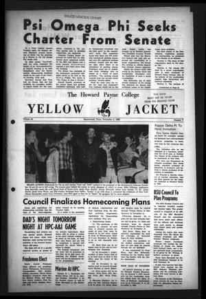Primary view of object titled 'The Howard Payne College Yellow Jacket (Brownwood, Tex.), Vol. 54, No. 7, Ed. 1  Friday, November 4, 1966'.