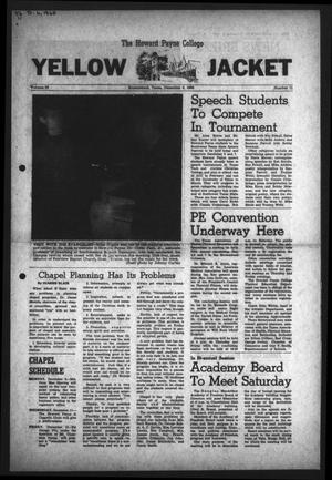 The Howard Payne College Yellow Jacket (Brownwood, Tex.), Vol. 56, No. 11, Ed. 1  Friday, December 6, 1968