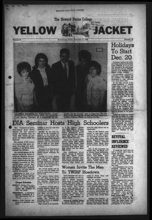 The Howard Payne College Yellow Jacket (Brownwood, Tex.), Vol. 56, No. 12, Ed. 1  Friday, December 13, 1968