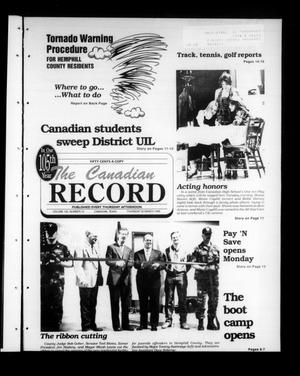The Canadian Record (Canadian, Tex.), Vol. 105, No. 13, Ed. 1 Thursday, March 30, 1995