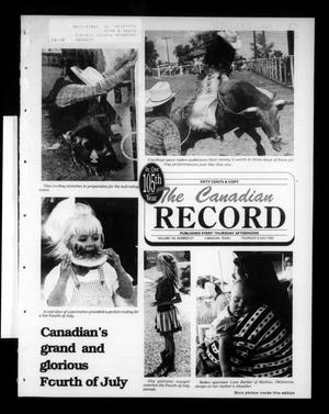 The Canadian Record (Canadian, Tex.), Vol. 105, No. 27, Ed. 1 Thursday, July 6, 1995