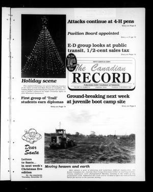 The Canadian Record (Canadian, Tex.), Vol. 104, No. 50, Ed. 1 Thursday, December 15, 1994