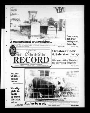 The Canadian Record (Canadian, Tex.), Vol. 105, No. 5, Ed. 1 Thursday, February 2, 1995