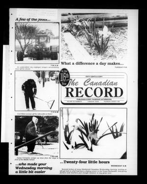 The Canadian Record (Canadian, Tex.), Vol. 105, No. 9, Ed. 1 Thursday, March 2, 1995