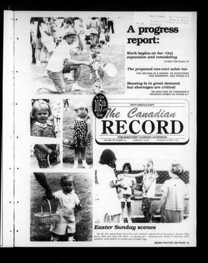 The Canadian Record (Canadian, Tex.), Vol. 105, No. 16, Ed. 1 Thursday, April 20, 1995