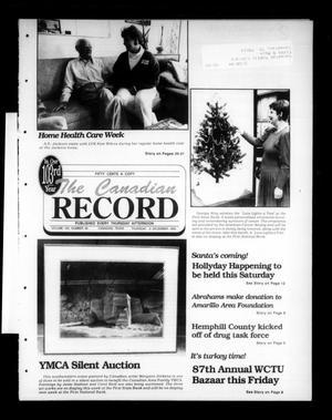 The Canadian Record (Canadian, Tex.), Vol. 103, No. 48, Ed. 1 Thursday, December 2, 1993